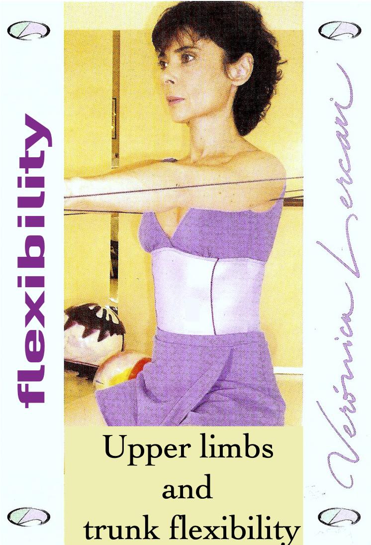 Upper limbs and trunk flexibility