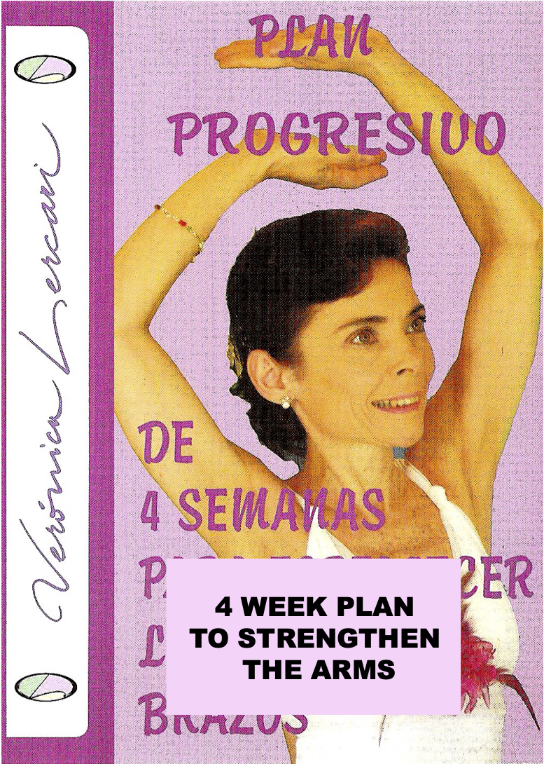 4-week plan to strengthen the arms